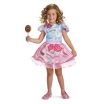 photo of a girl in a Candyland costume
