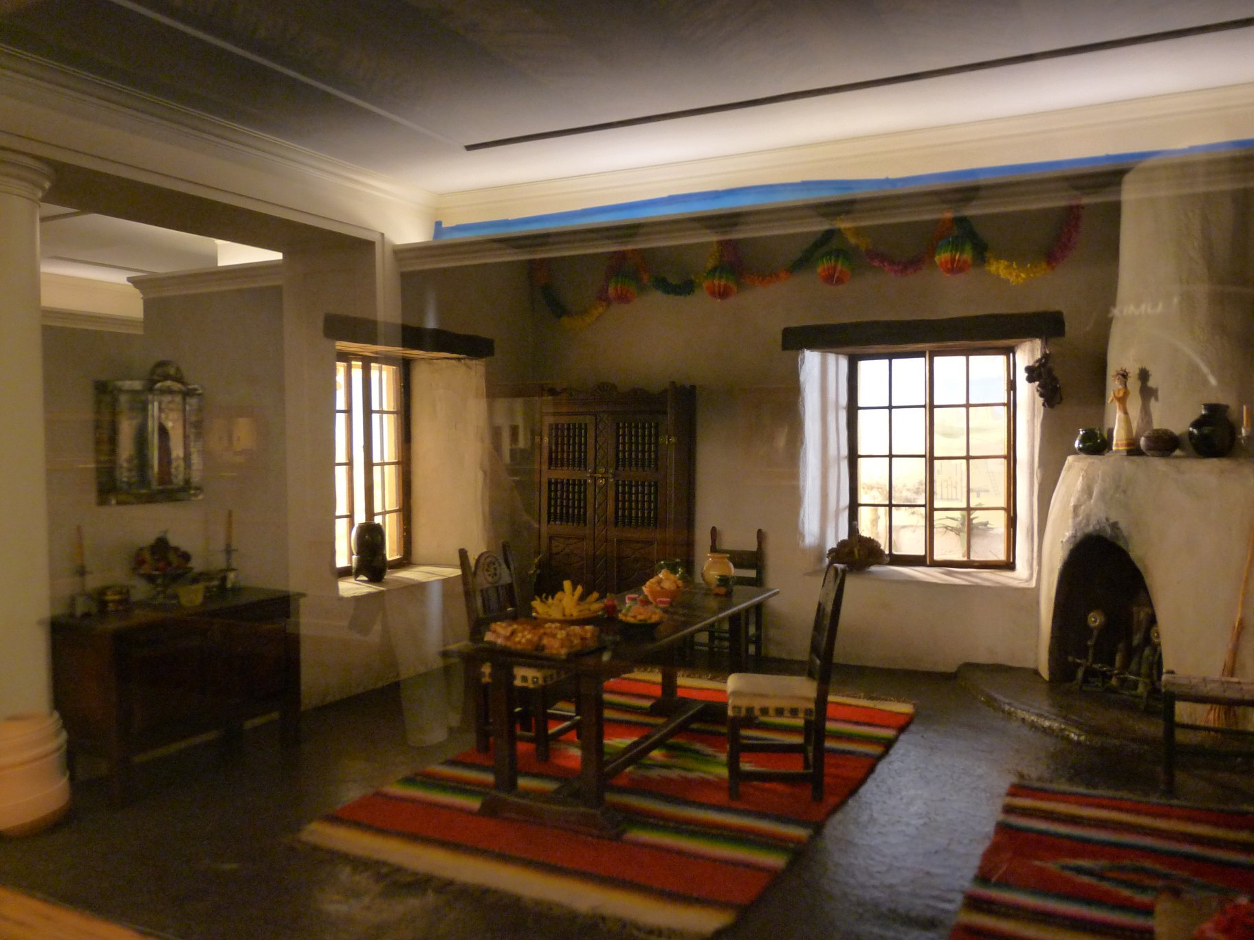 southwestern room with decorations