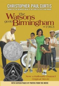 The Watsons Go to Birmingham--1963 book cover 1