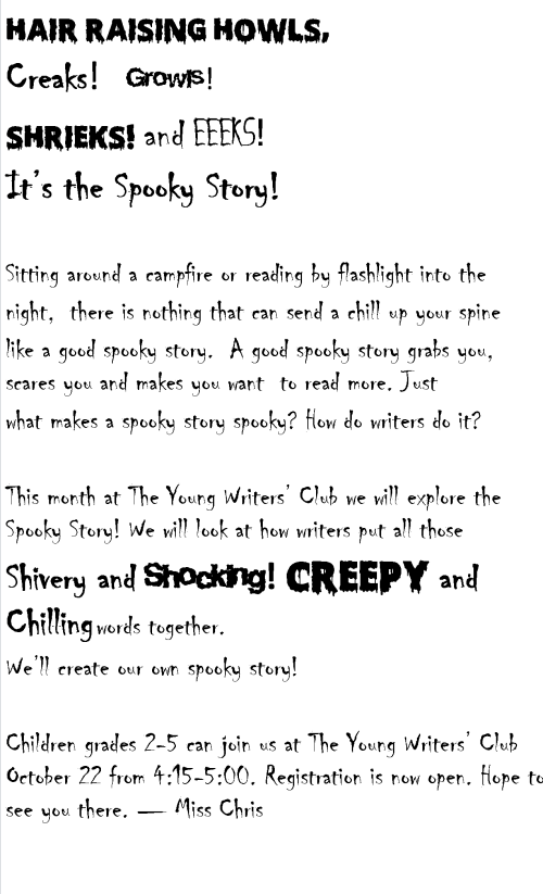 spooky stories 6