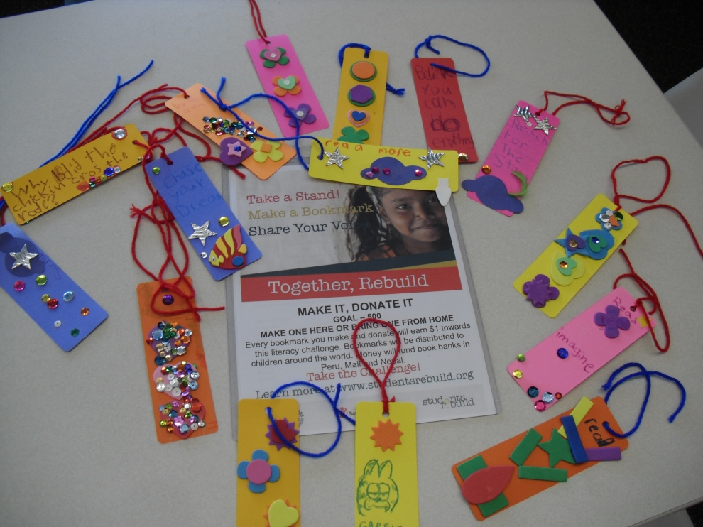 bookmarks made at Fountaindale