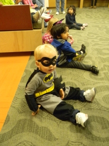 superhero in storytime