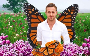 man with butterfly wings