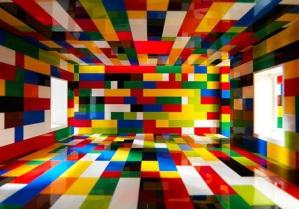 LEGO room interior
