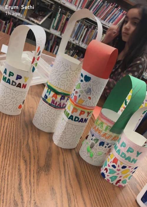 Ramadan paper lanterns