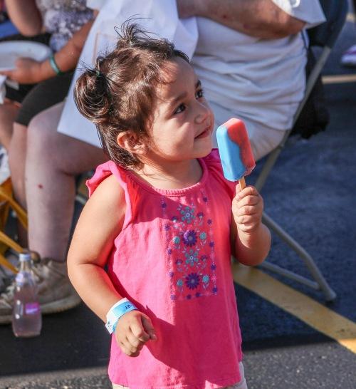 Ice Cream Social-little girl